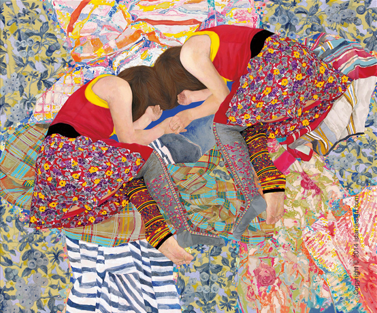 картины художницы Naomi Okubo on iStar Design Blog on www.istardesign.com