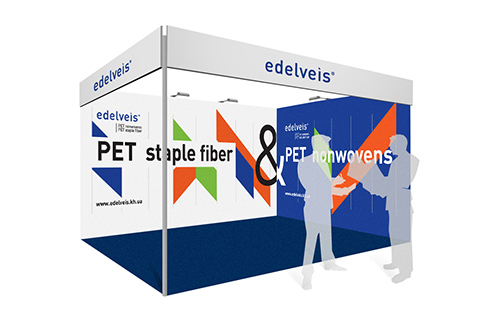 Exhibition stand for Edelveis