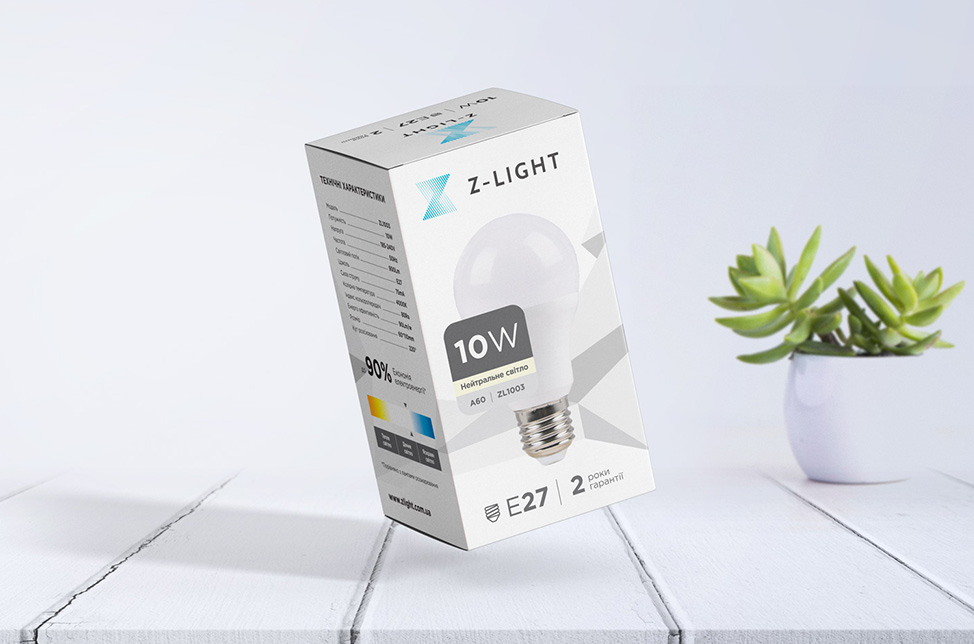 LED-bulb design for Z-light