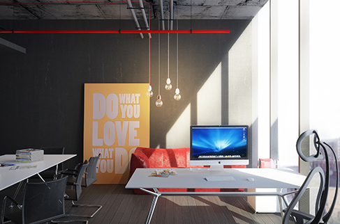 Office for business meetings iStar Design Bureau