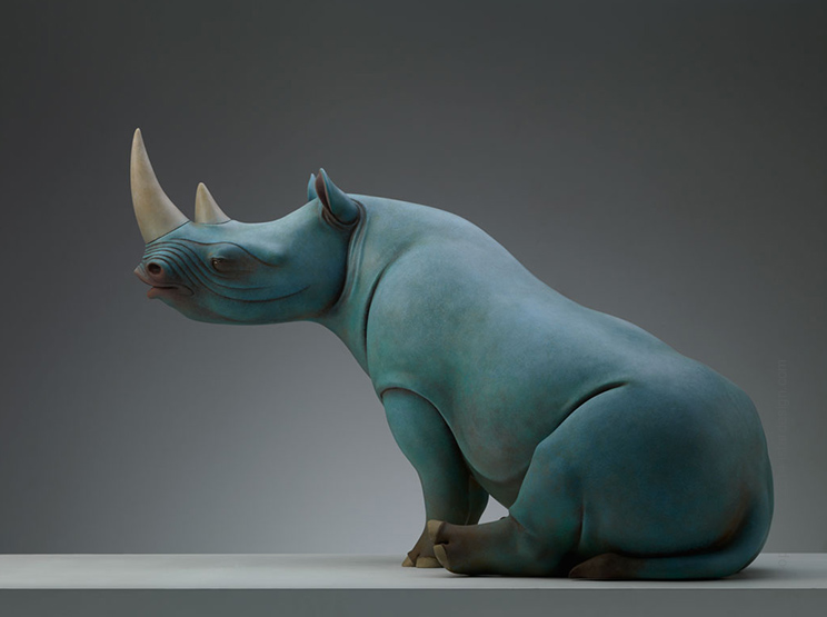 Wang Ruilin sculpture