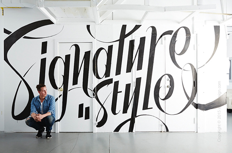 ben johnston lettering