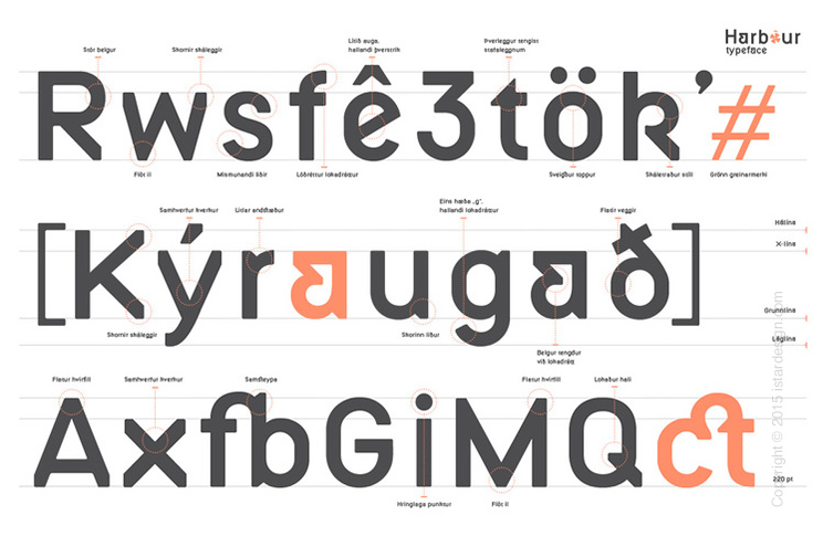 Björn Loki graphic design typography