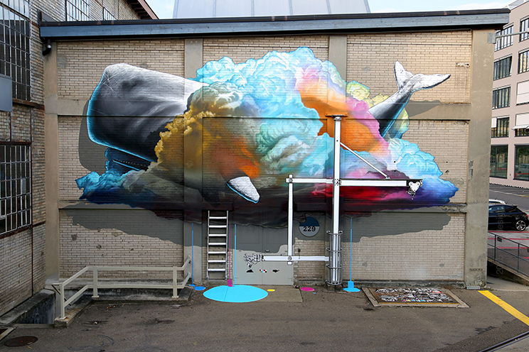 NEVERCREW street art