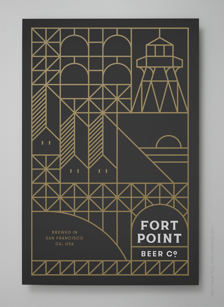 Fort Point branding by Manual
