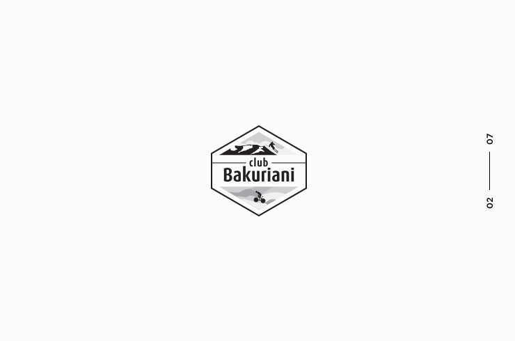 identity design Bakuriani Club