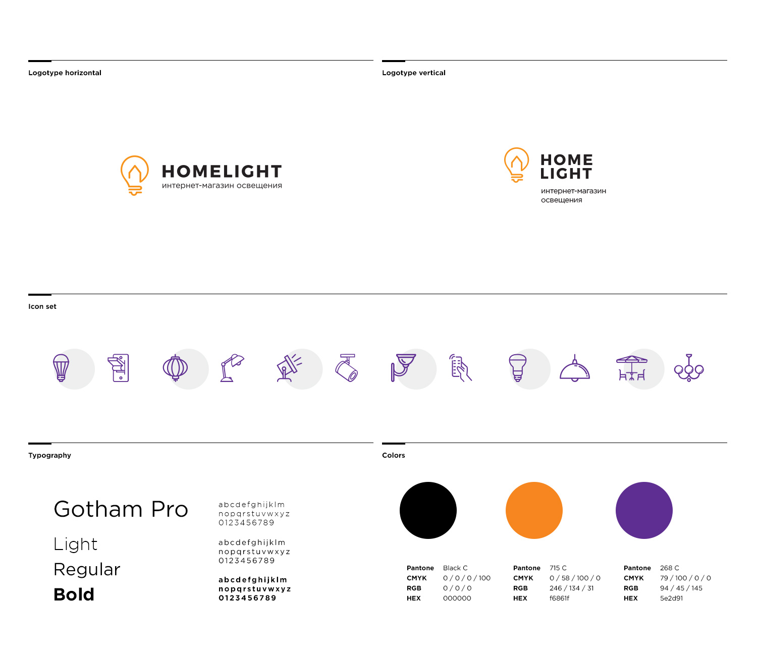 identity design homelight
