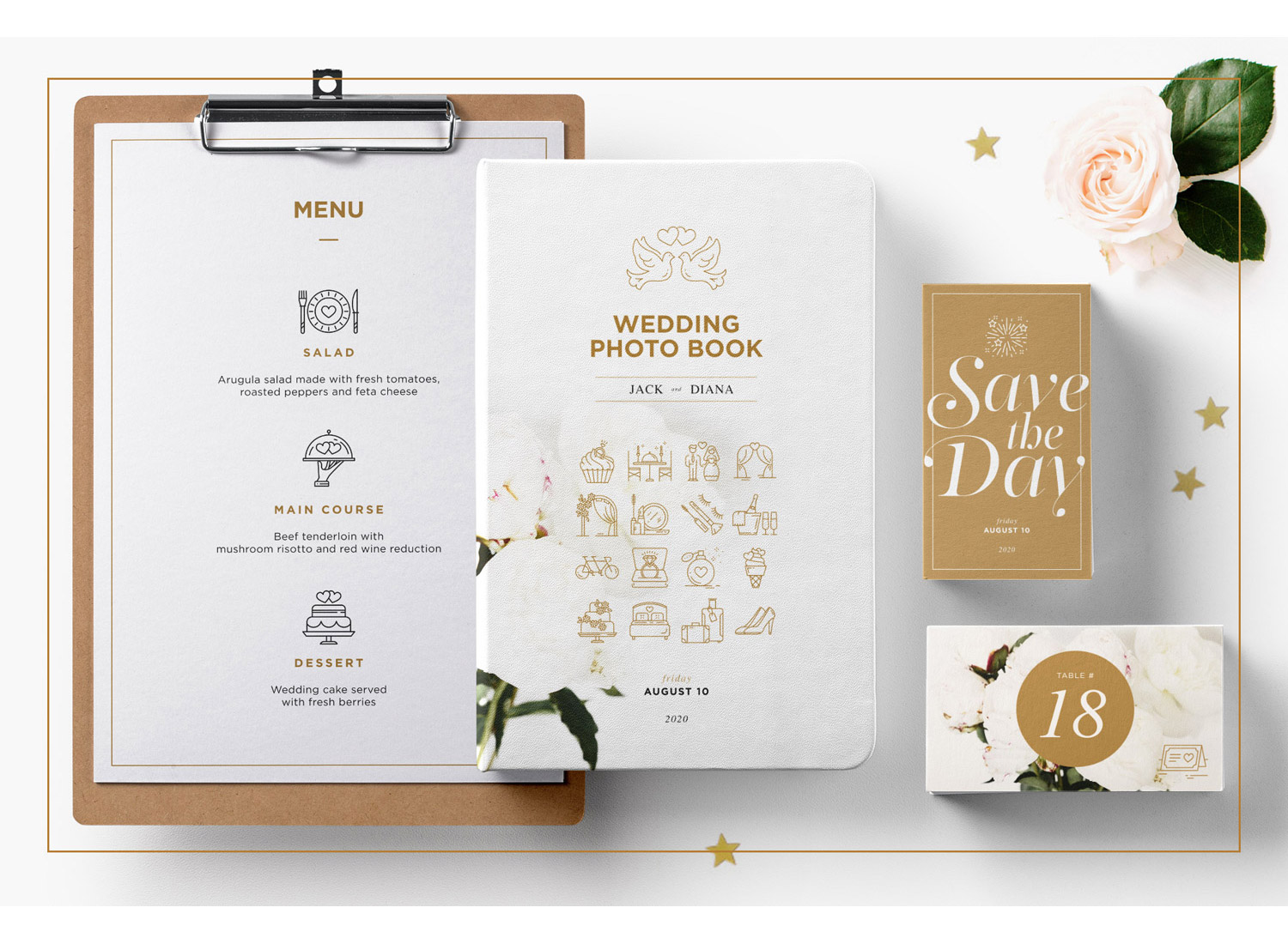 free Wedding Icons pack