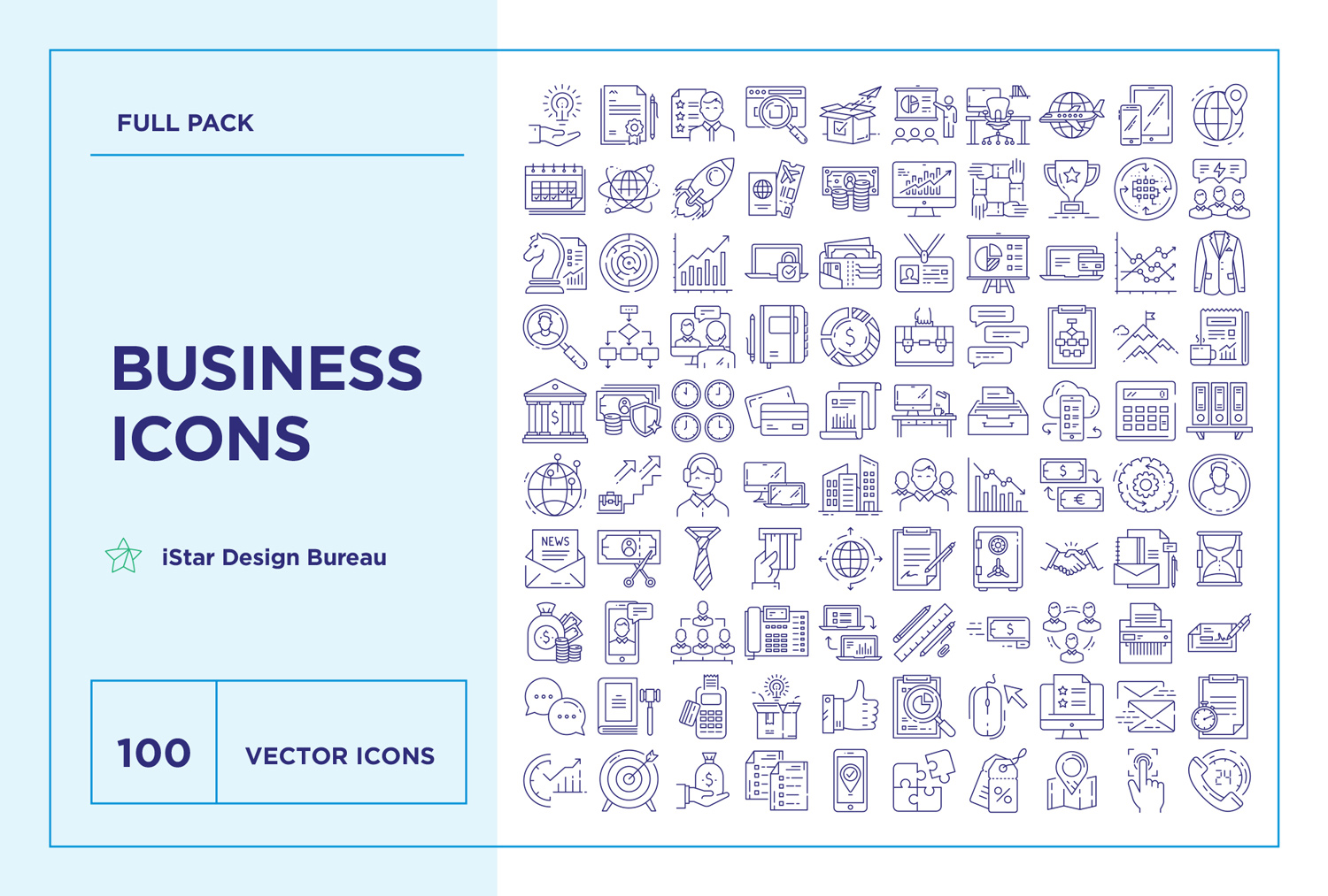 download Business Icons Set