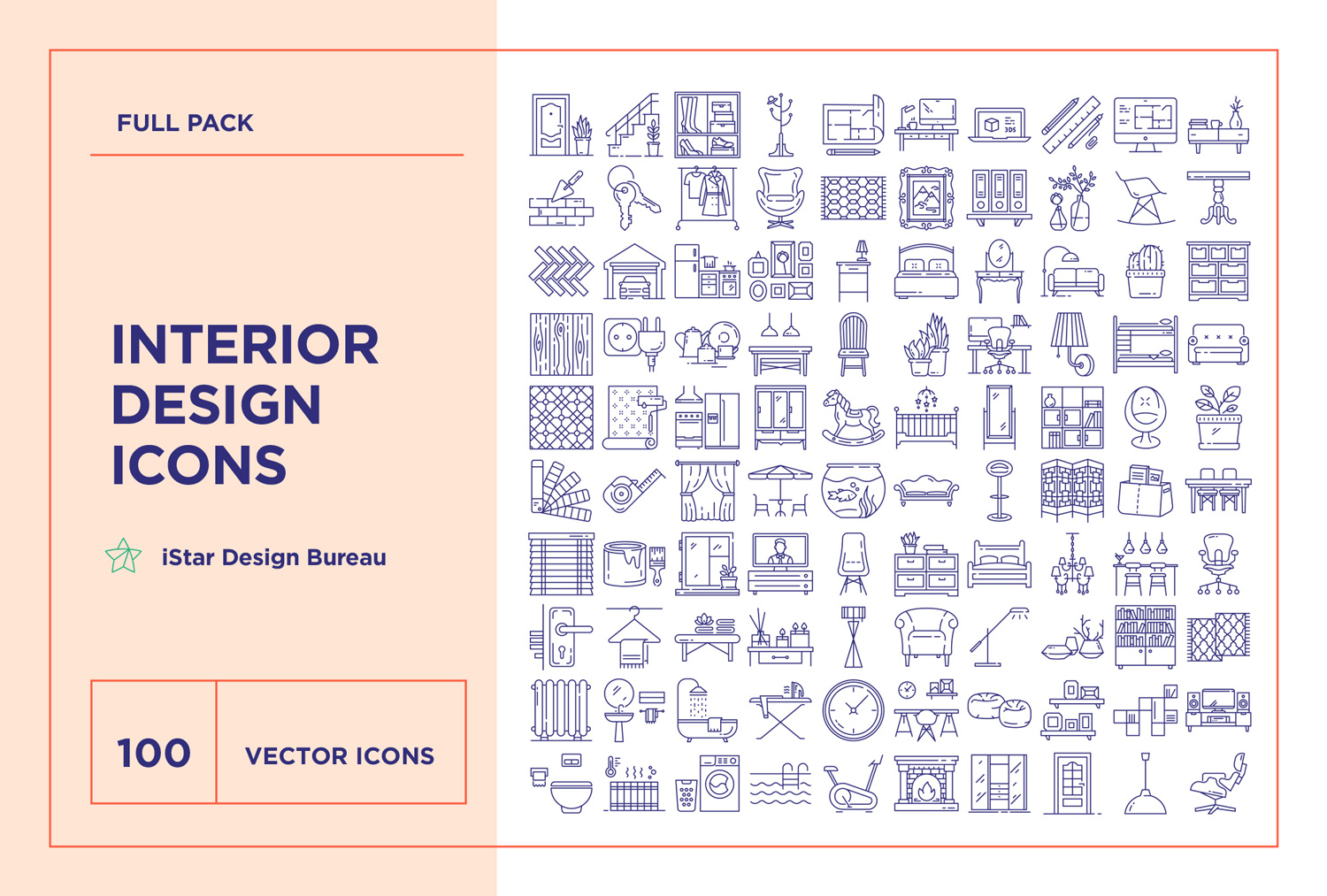 interior design icon package