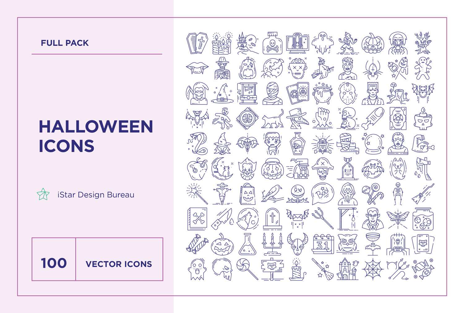 download Halloween Icons Set