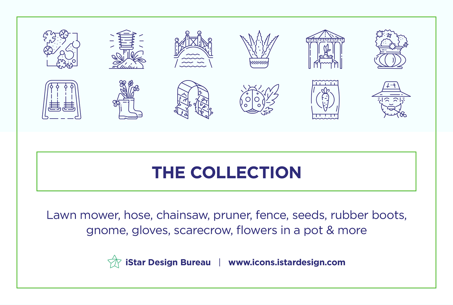 free download Gardening Icon Set